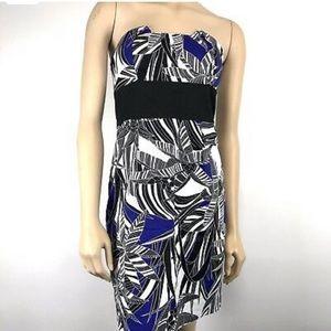 Trina Turk strapless dress size 4